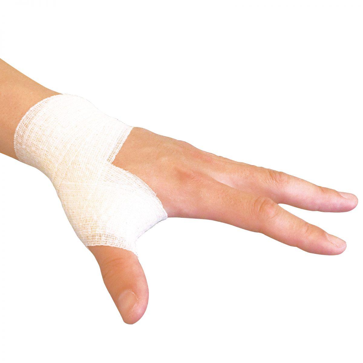 親指の動き妨げずに手首を固定したい