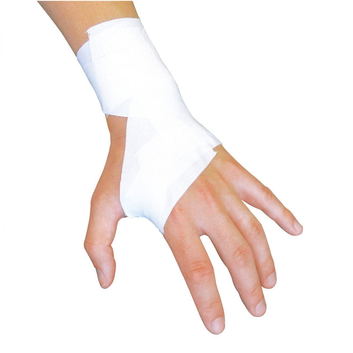 手首を固定したい1-手首の底屈・背屈の抑制