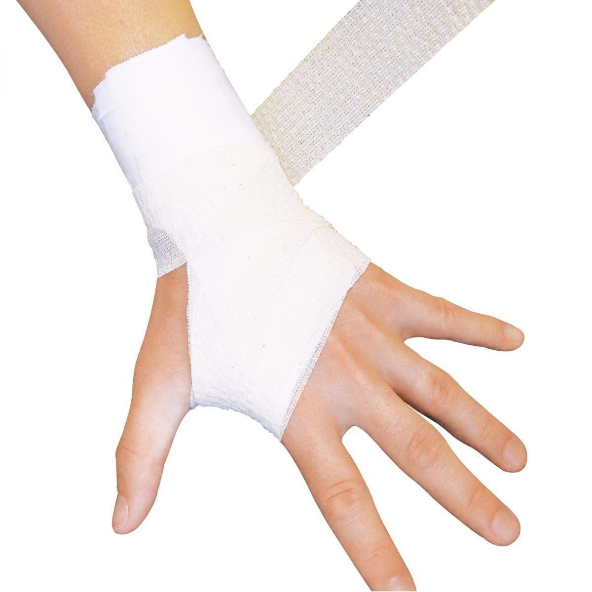 手首を固定したい2-手首のねじれを抑制