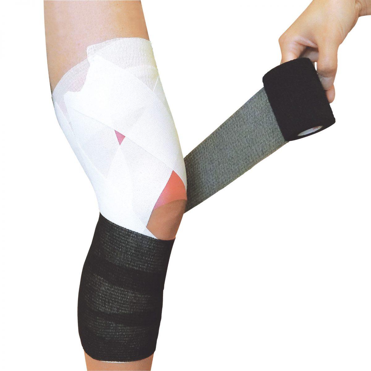 よりしっかりひざを固定するために