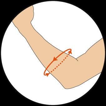 前腕の測り方